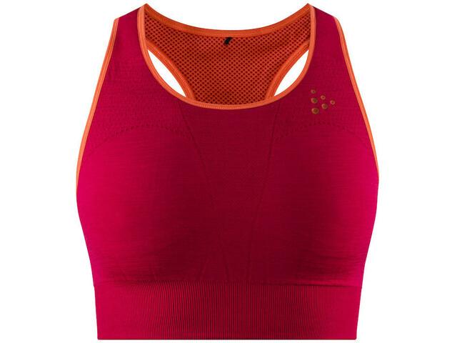 Craft Fuseknit Sports Bra Women red